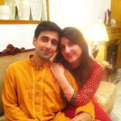 Actor Sami Khan With His Wife