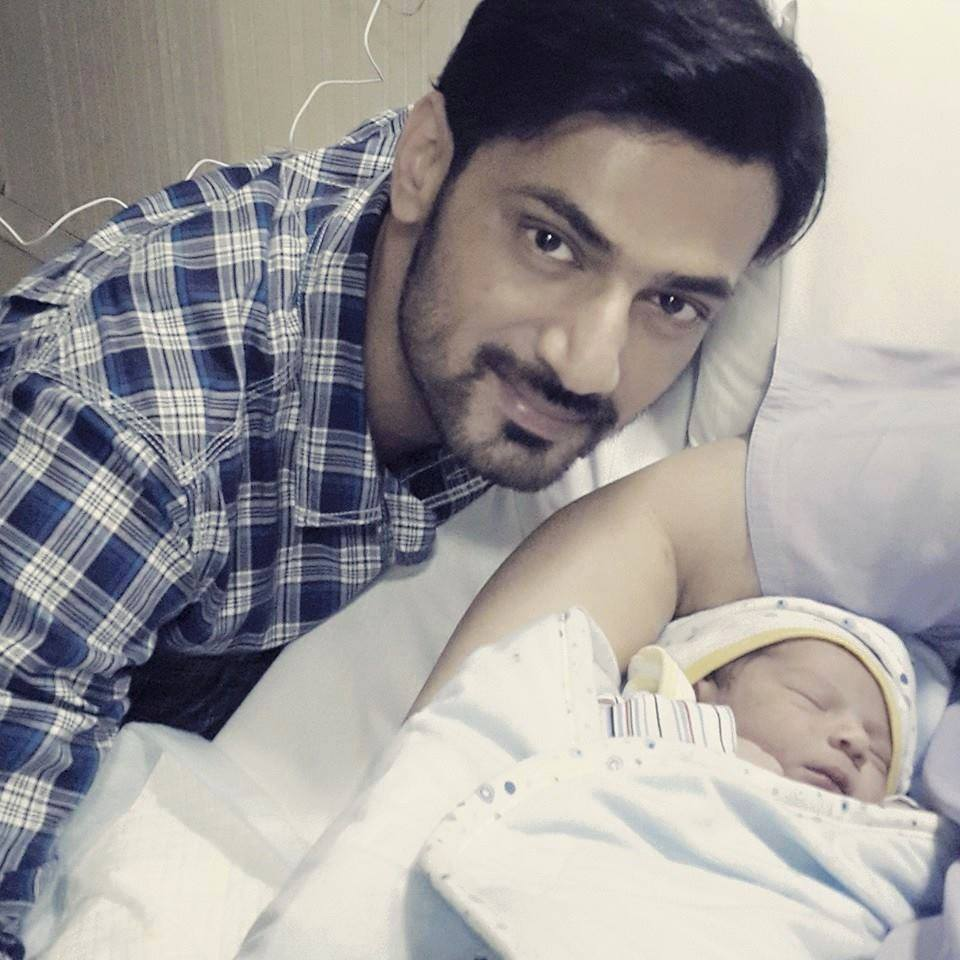 Actor Zahid Ahmed Blessed With A Baby Boy Zaviyar Zahid