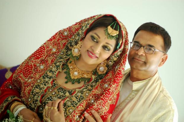 Actress Bindiya got married to Doctor Zafar