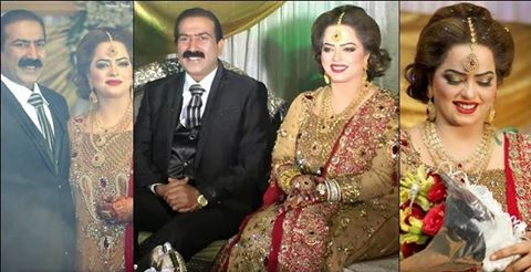 Actress Madiha Shah Wedding Picture