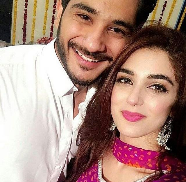 Actress Maya Ali With Her Brother
