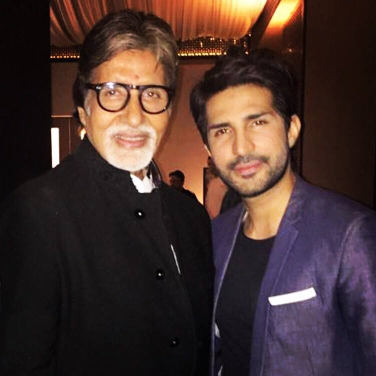 Adeel Chaudhry With Amitabh
