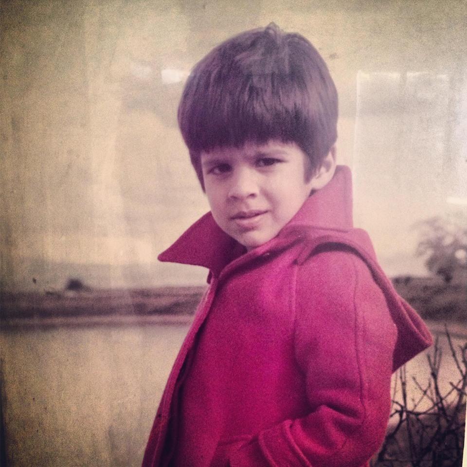 Adnan Malik Childhood Photo