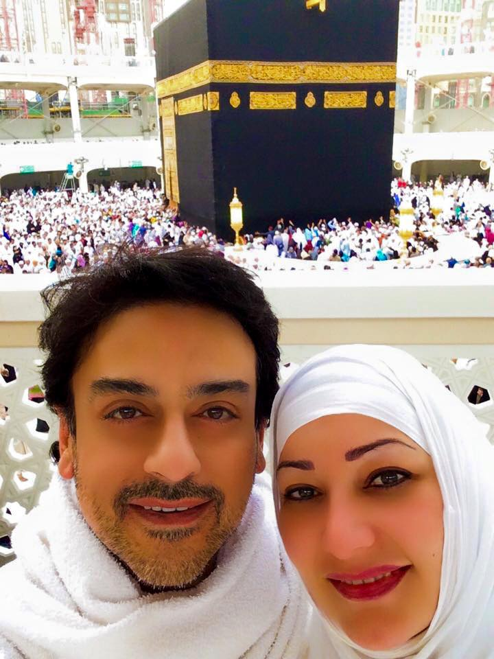 Adnan Sami With Wife Roya Jan Performed Umrah