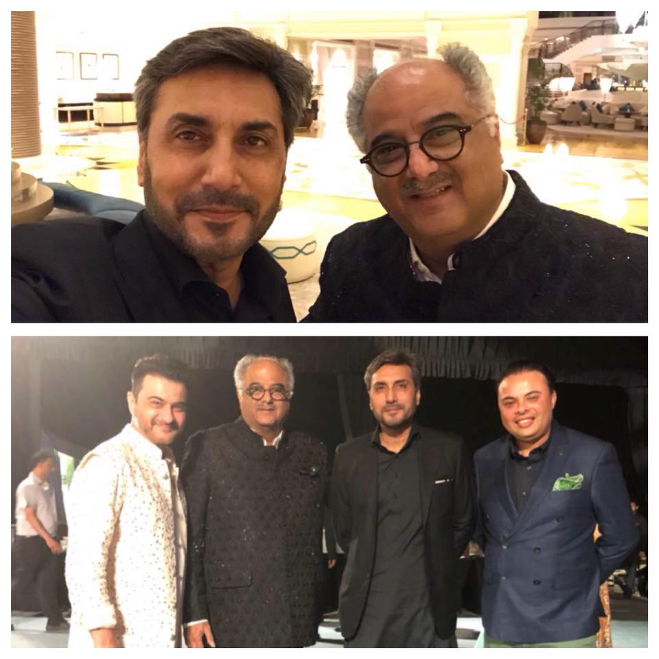 Adnan Siddiqui At Boney Kapoor's Family Wedding In UAE