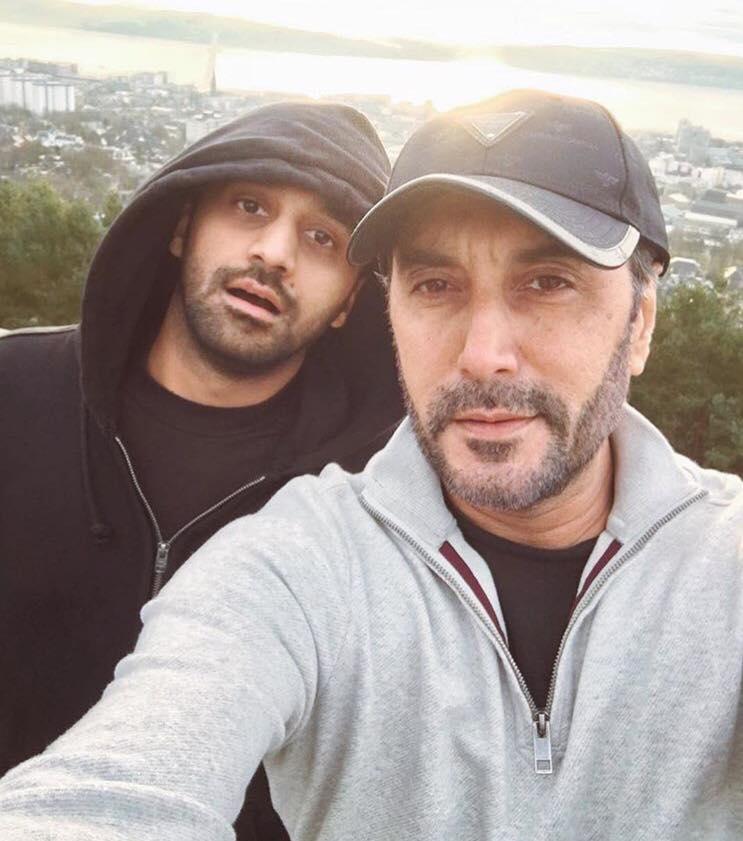 Adnan Siddiqui & Waseem Badami In Scotland