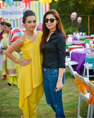 Adorable‬ Click Of ‪‎Maira Khan‬ With ‪‎Momal Sheikh‬