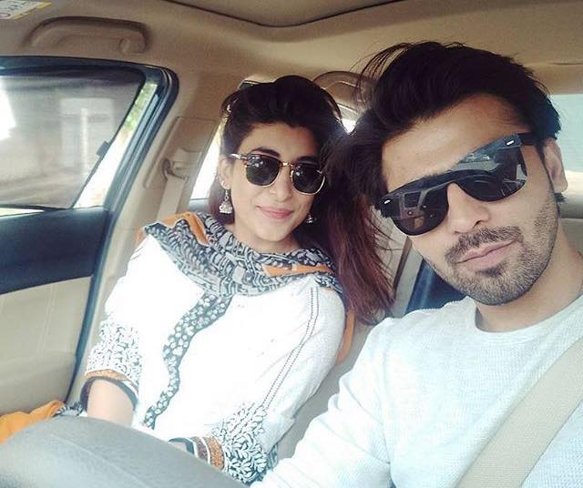 Adorable Couple Of Farhan & Urwa