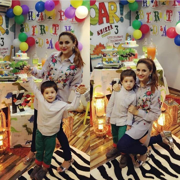 Adorable Pictures Of Fatima With Her Son Almir