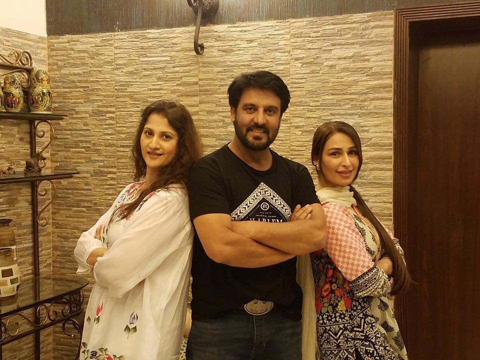 Afzal Khan & Sahiba With Reema Khan