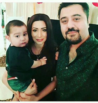 Ahmad Butt With Family