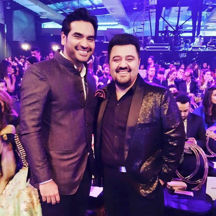 Ahmed Ali Butt with Humayun Saeed in LSA 2015