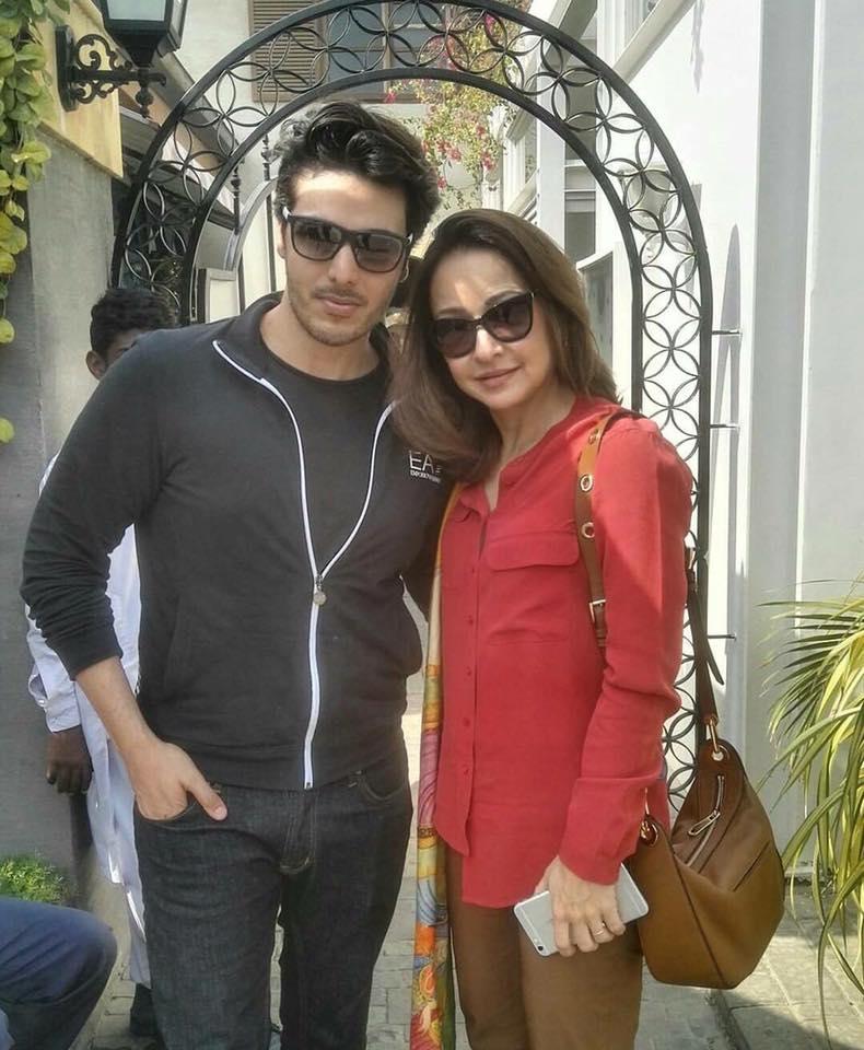 Ahsan Khan With Zeba Bakhtiar