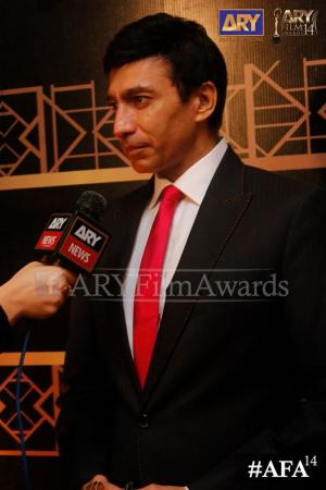 Aijazz Aslam At ARY Film Awards