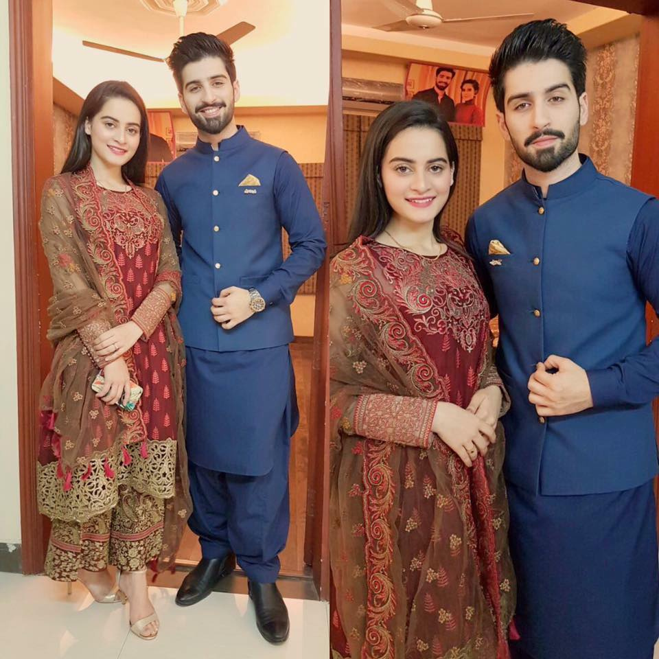 aiman khan muneeb butt on new year arts entertainment images aiman khan muneeb butt on new year