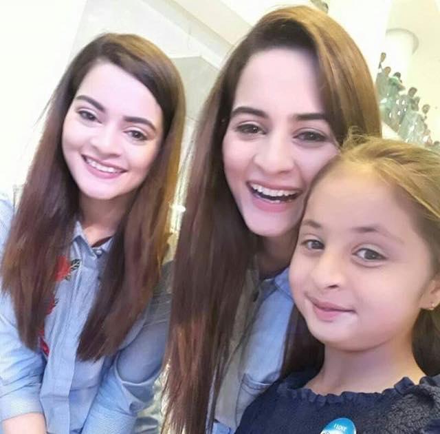 Aiman & Minal Takes Selfie With Maryam Khalif