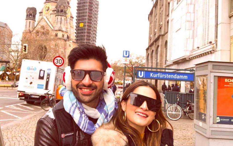 Aiman & Muneeb Enjoying Their Honeymoon In Germany