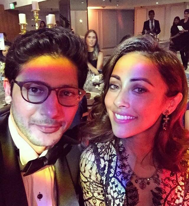 Ainy Jaffri With Her Husband