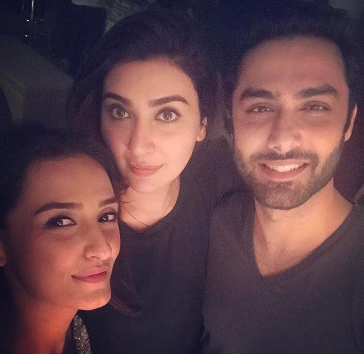 Aisha Khan With Momal Shiekh & Ahmed Ali Akbar