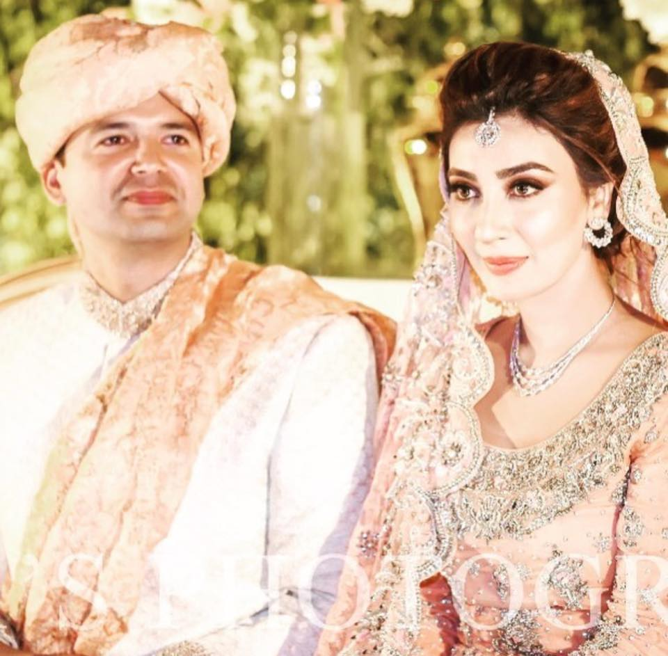 Aisha Khan & Major Uqbah On Their Baraat