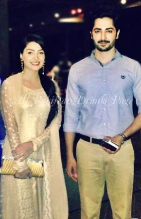 Aiza Khan And Danish Spotted At Do Dariya Karachi