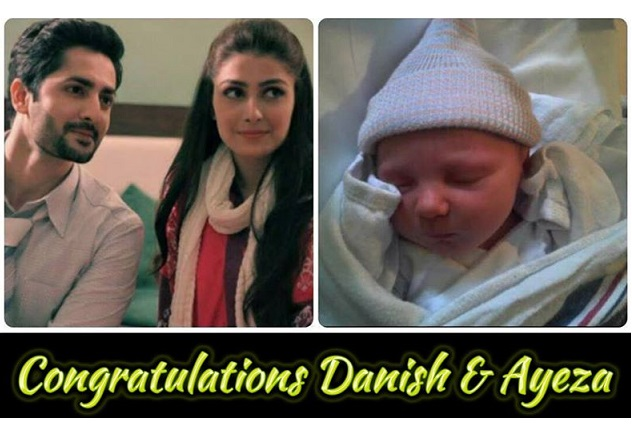 Aiza Khan And Danish Taimoor Blessed With Baby Girl