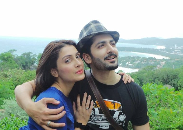 Aiza Khan And Danish Taimoor In Phuket