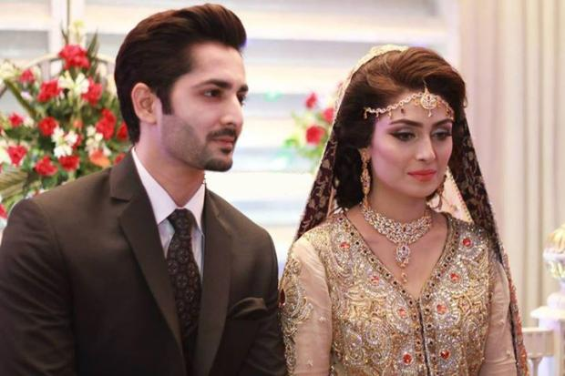 Aiza Khan And Danish Taimoor Walima Picture
