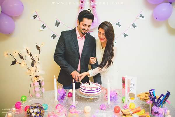 Aiza & Danish Celebrated Their 1st Anniversary