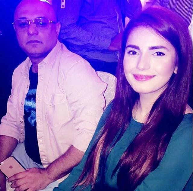 Ali Azmat & Momina Mustehsan In An Event In Karachi
