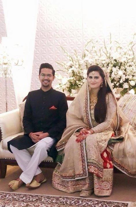 Ali Gul Pir Wedding Picture