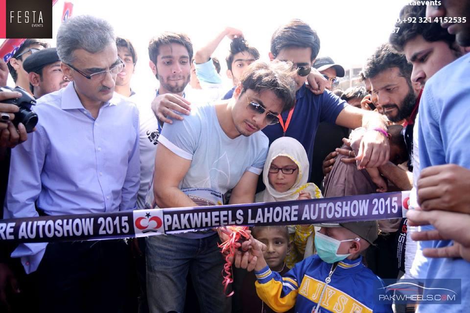 Ali Zafar At Pak Wheel Lahore
