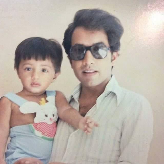 Ali Zafar Childhood Picture