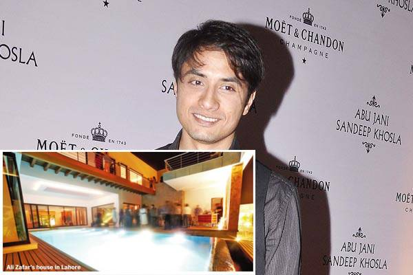 Ali Zafar Gift 15000 Sq ft House To His Wife