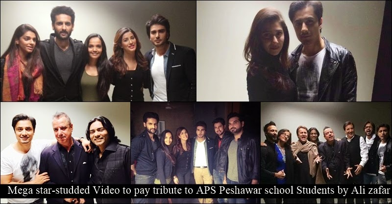 Ali Zafar Making Song Urein Ge For Peshawar School Victims