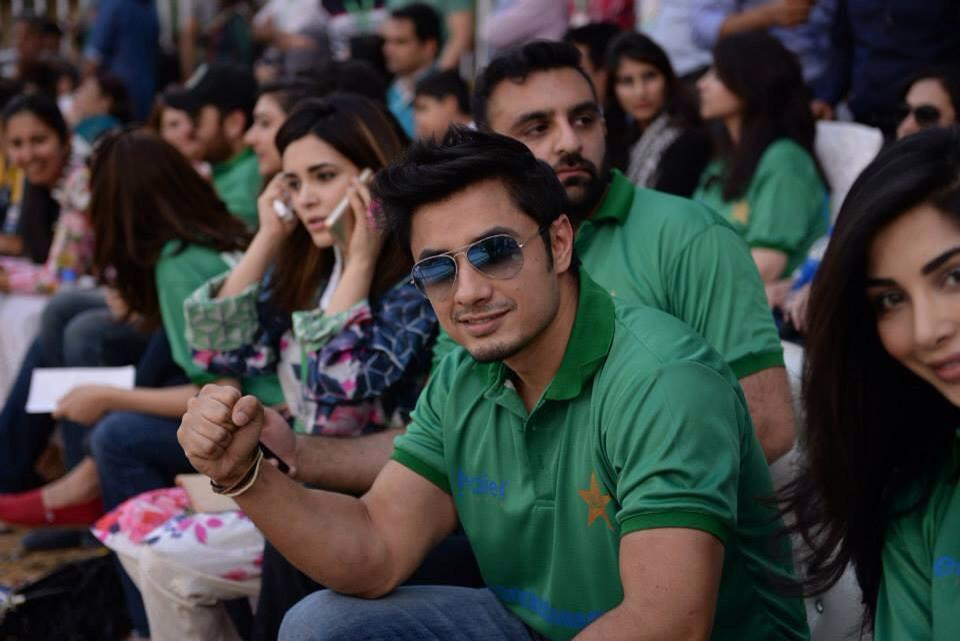 Ali Zafar Spotted At Gaddafi Stadium Lahore