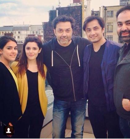Ali Zafar With Boby Deol