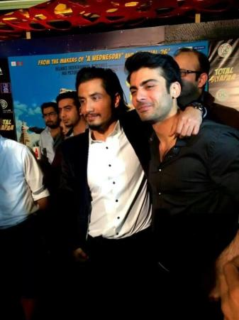 Ali Zafar With Fawad Khan