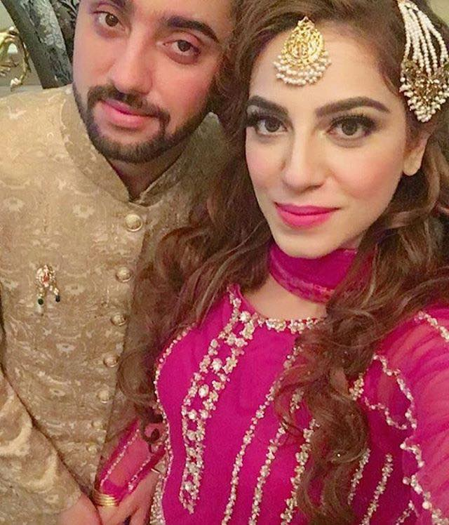 Amanat Ali With His Wife Sarah
