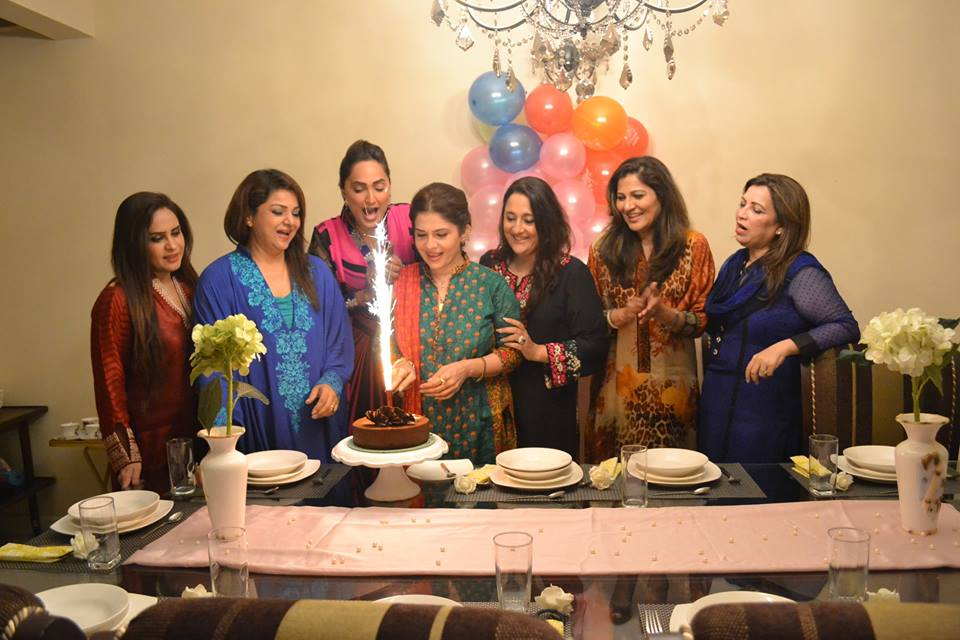 Amber Khan Birthday Celebration