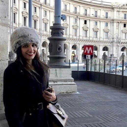 Amna Ilyas In Rome