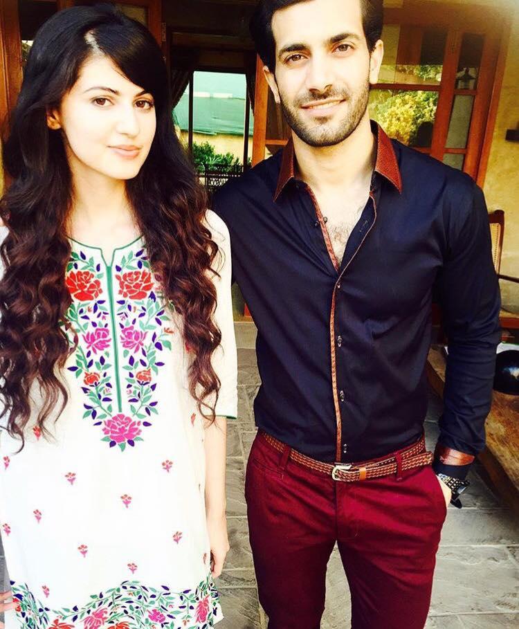 Anam Goher With Shahzad Noor