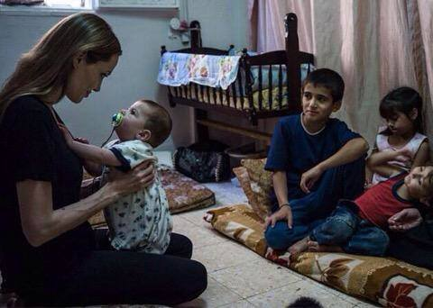 Angelina Jolie Adopted Syrian Baby