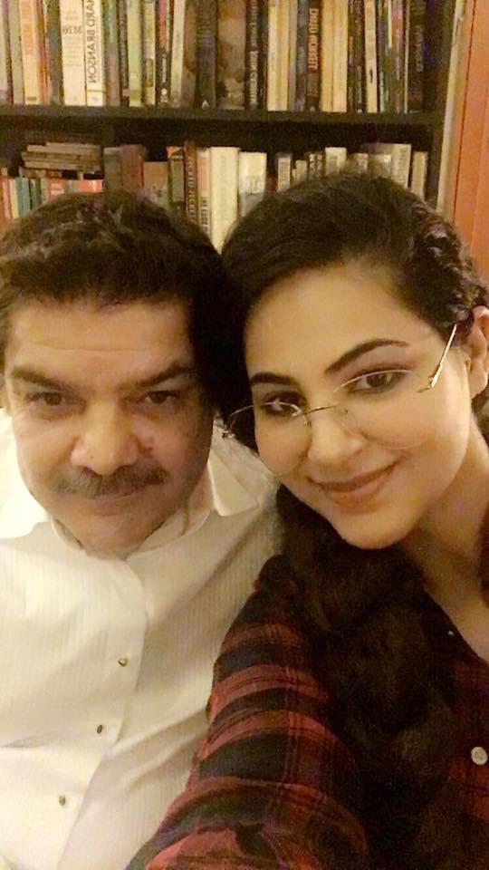 Annie Khalid With Mubasher Luqman