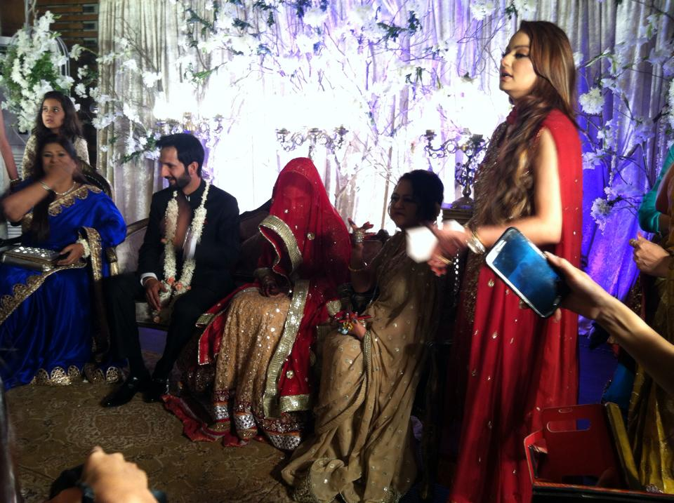 Anoushay Abbasi Nikkah Ceremony Picture
