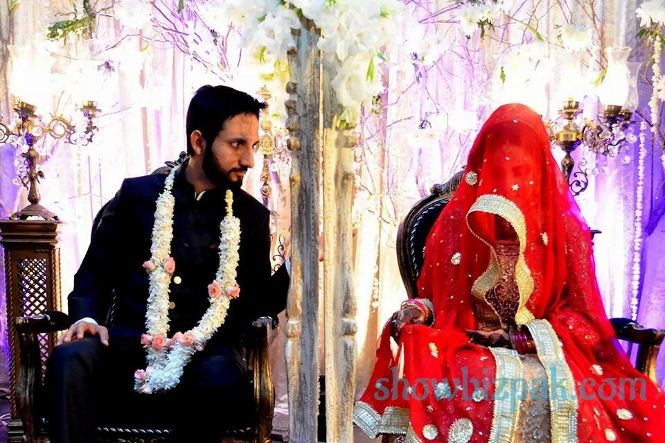 Anoushay Abbasi Wedding Picture