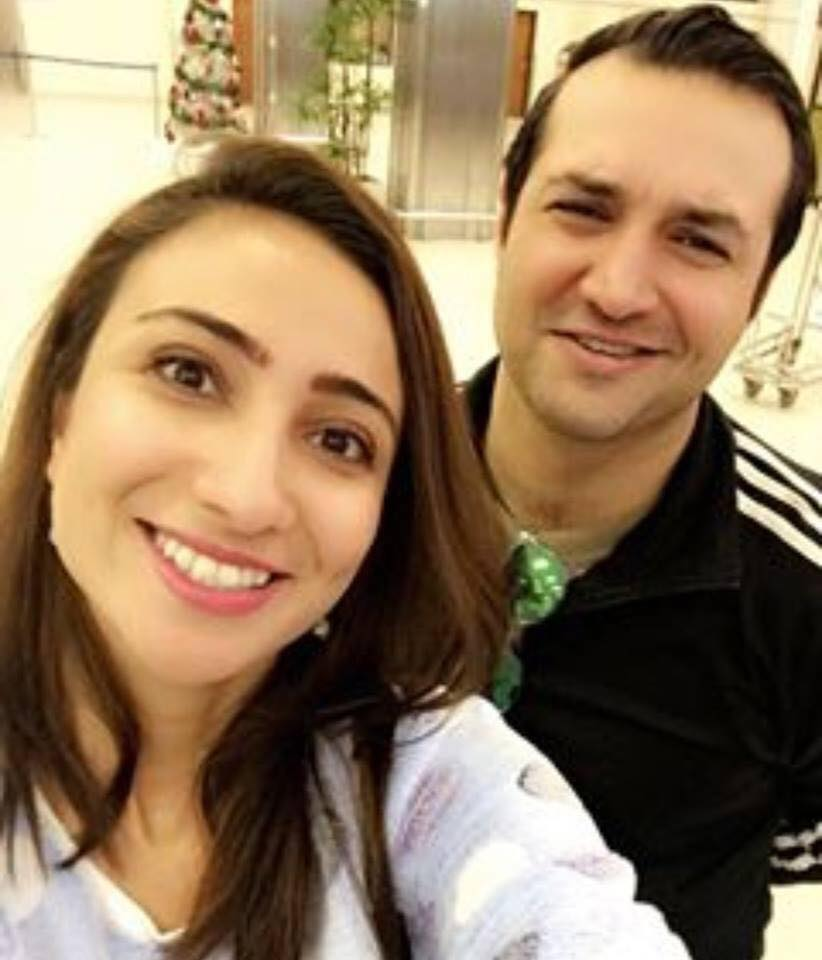 Anoushey Ashraf's Selfie With Her Fiancé