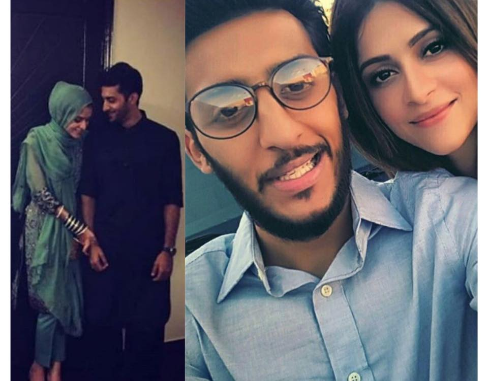Arij Fatyma With Her Fiance