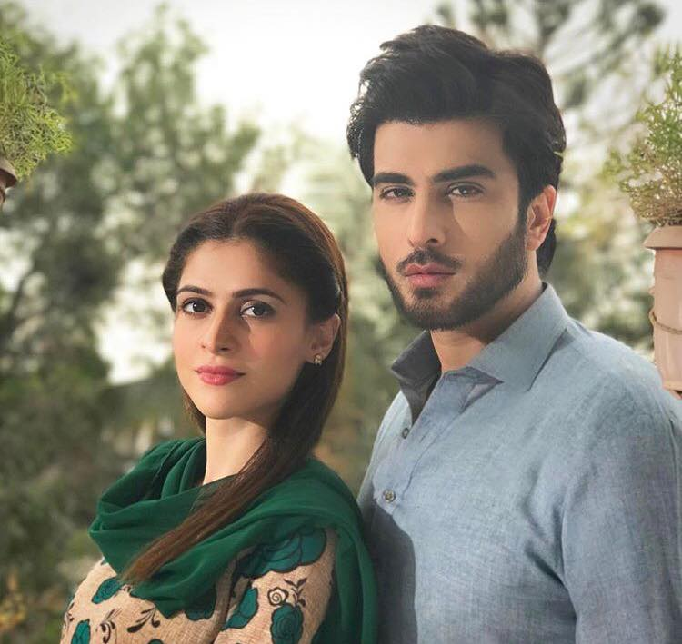 Arij Fatyma & Imran Abbas From The Sets Of Yaar e Bewafa
