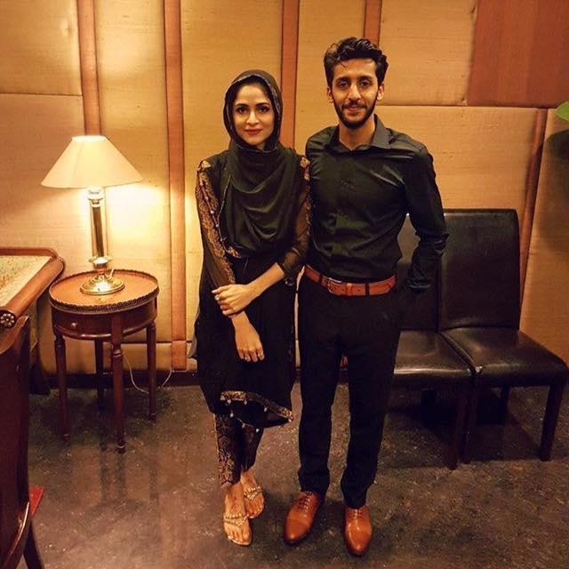 Arij Fatyma & Ozair Ali Clicked On Eid